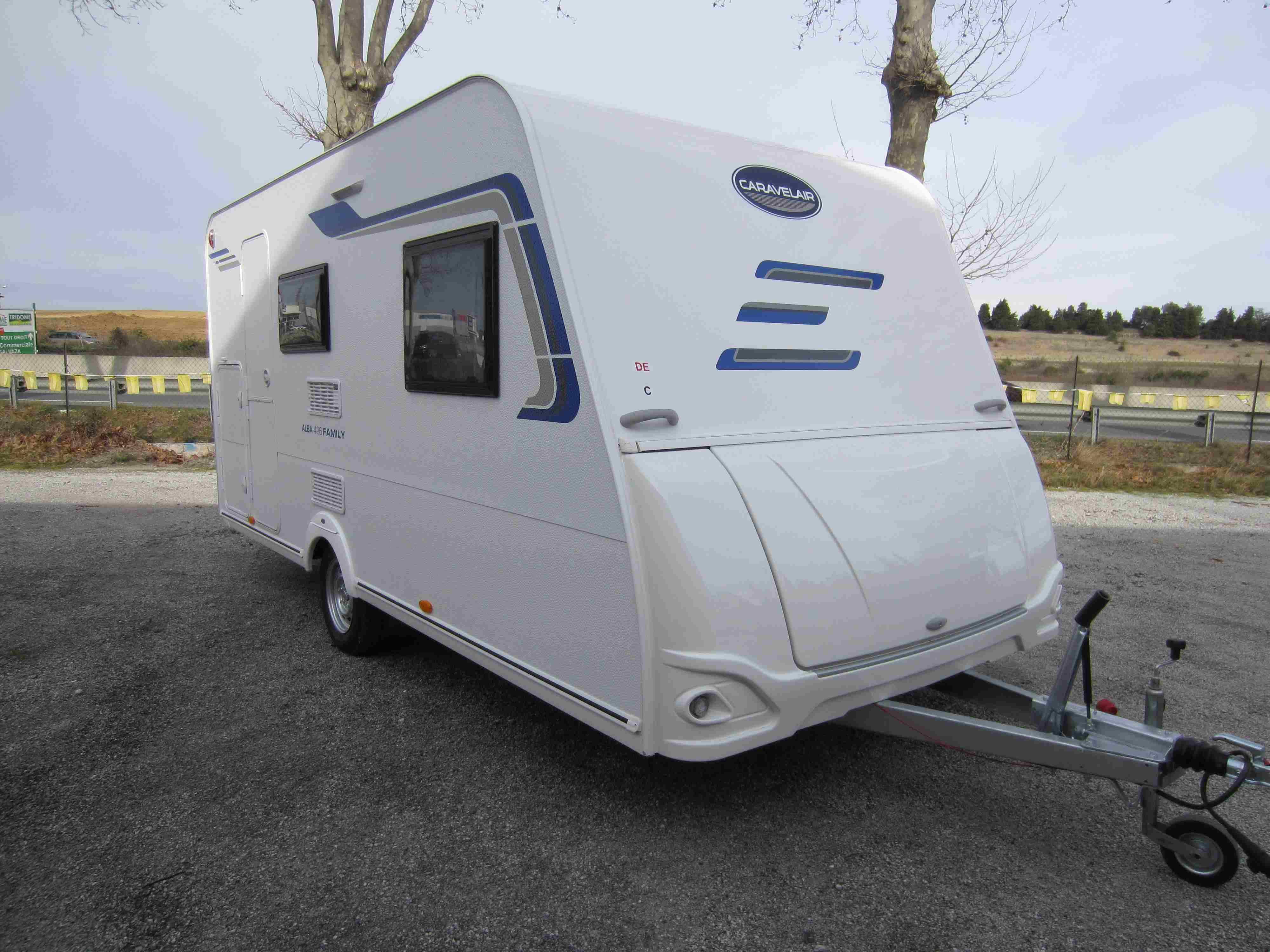 Caravelair alba 426 Fabre caravane modèle 2020