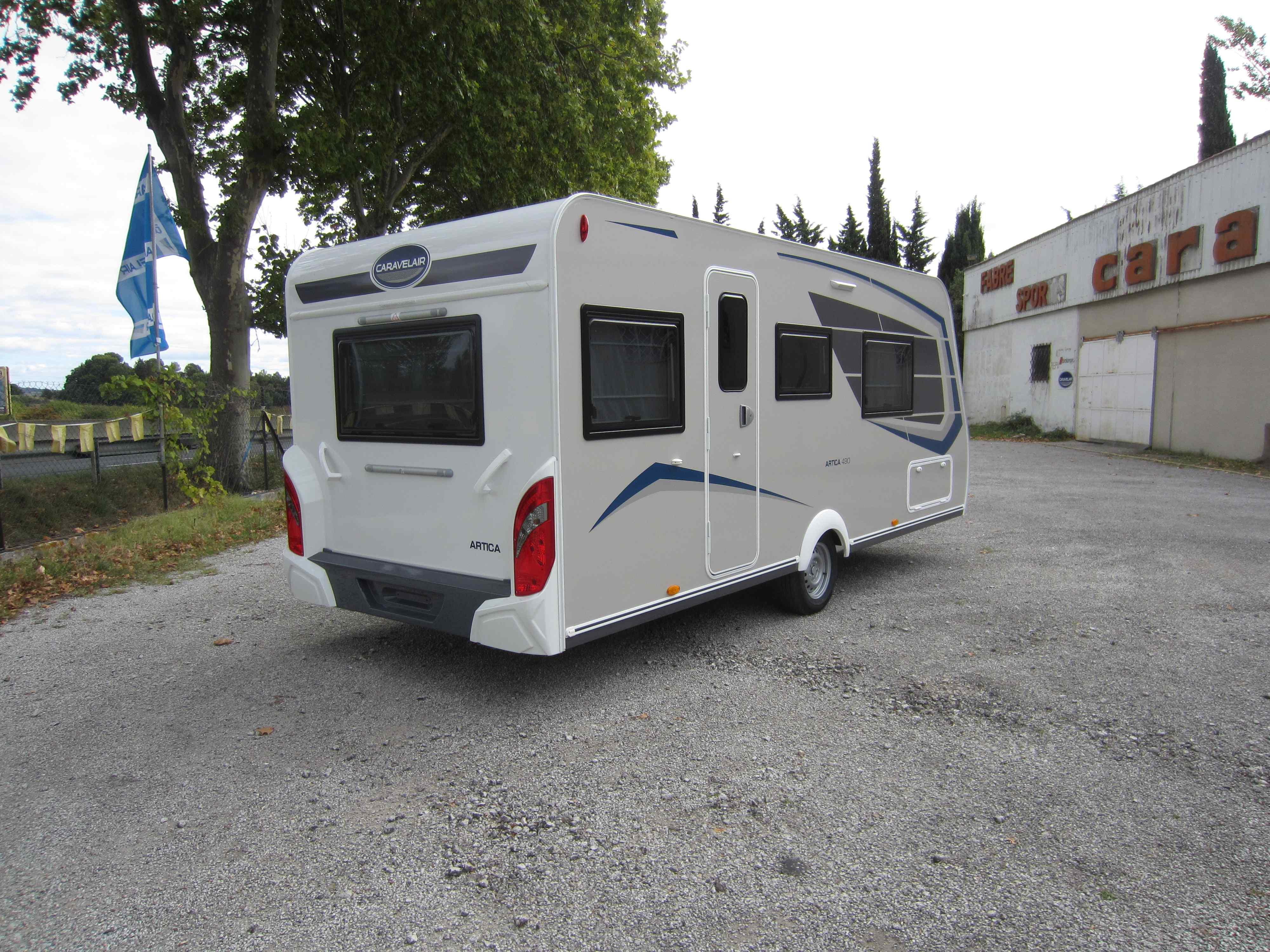 Caravelair artica 490 cp collection 2020 Fabre caravanes